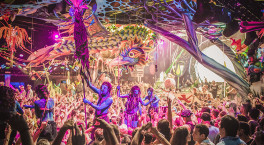 elrow stages two day outdoor festival at Sandwell Valley Country Park