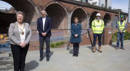 Work begins to transform Worcester's railway arches