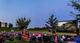 The Luna Cinema returns to National Memorial Arboretum