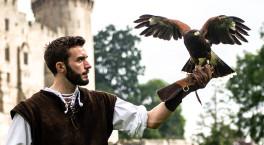 Warwick Castle celebrates the return of The Falconer's Quest
