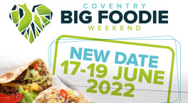Coventry's Big Foodie Weekend rescheduled to 2022