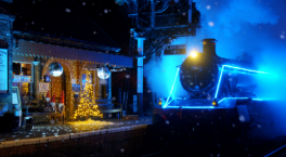 Steam in Lights returns to Severn Valley Railway