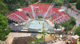 First images of RSC's new outdoor theatre released