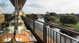 RSC rooftop restaurant reopens today with new summer menu