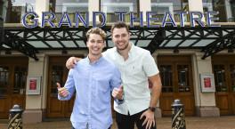 AJ & Curtis Pritchard launch Wolverhampton Grand panto