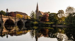 Shrewsbury: A town of flowers, history, and so much more...