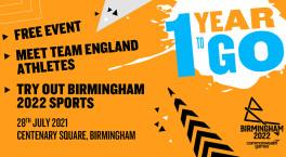 Birmingham 2022 to host sports festival in Birmingham city centre next week