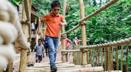 Ironbridge Gorge Museums' new outdoor adventure attraction is now open