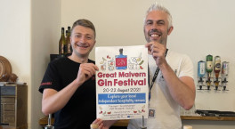 Great Malvern Gin Festival launches this month