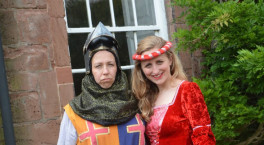 Train to be a Powerful Princess or Noble Knight at The Commandery