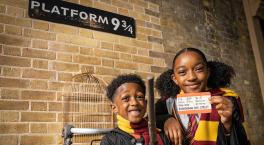 Harry Potter Platform 9 ¾ Trolley comes to Birmingham New Street