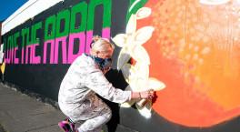 Vibrant new street art festival hits Worcester