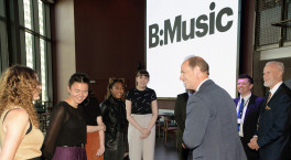 HRH The Earl of Wessex opens brand-new performance space at Symphony Hall