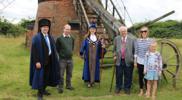Rotary donation kickstarts vital windmill repairs at Avoncroft