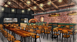 The Rolling Mill fires up for opening with delivery menu debut
