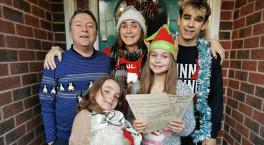 Britain's biggest charity singalong Doorstep Carols is back this Christmas