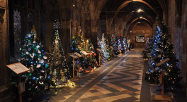 Tickets are now available for Worcester Cathedral's Christmas Tree Festival