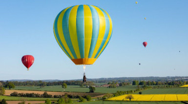 Flying high with the return of Telford's Balloon Fiesta