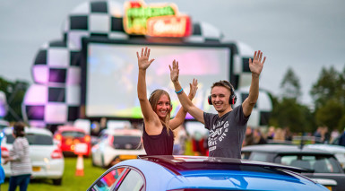 Ricoh Arena announce two-day drive-in event this April
