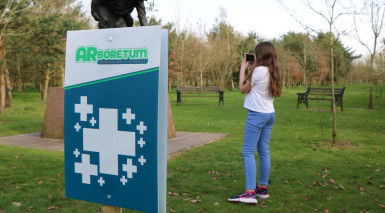 Augmented reality experience launches at National Memorial Arboretum