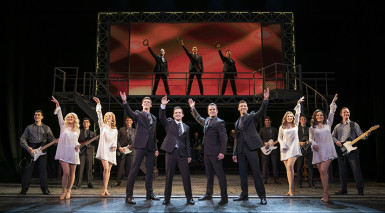 Jersey Boys bring UK tour to Birmingham for Christmas