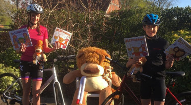 Young fundraisers gear up for 50-mile cycling challenge