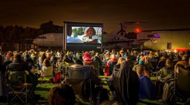 Outdoor Cinema returns to RAF Cosford