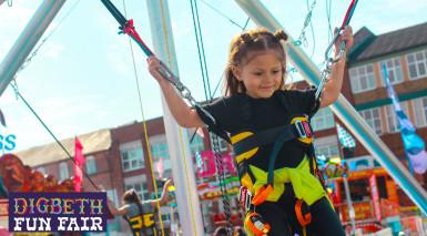Digbeth beach and fun fair brings the seaside to Birmingham