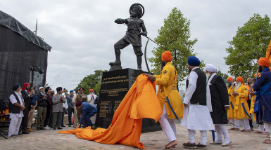 Memorial to Sikh soldiers officially unveiled in Wolverhampton