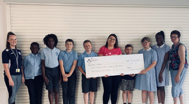 Coventry school children recognised for community contribution