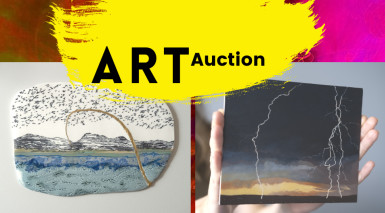 Shropshire artists donate to help local charity