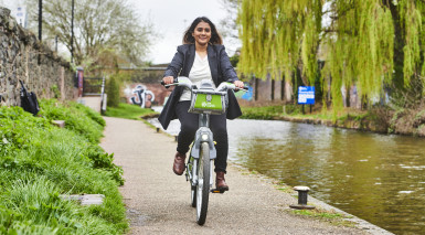Try something new with West Midlands Cycle Hire