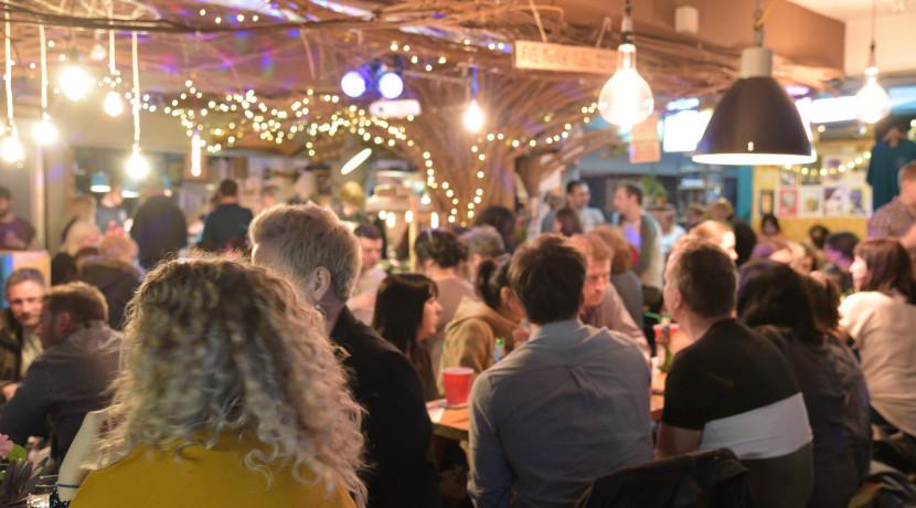 Shrewsbury Market Hall late night TONIGHT!