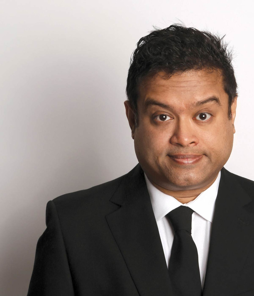 Last few tickets for comedian Paul Sinha this weekend