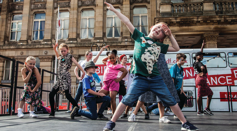 DanceXchange launches new, free online dance classes for children and families