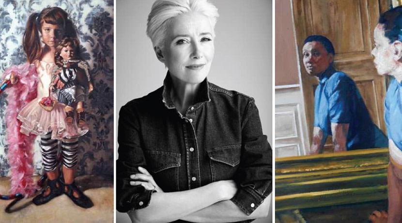 Dame Emma Thompson lends her support to prestigious female art prize