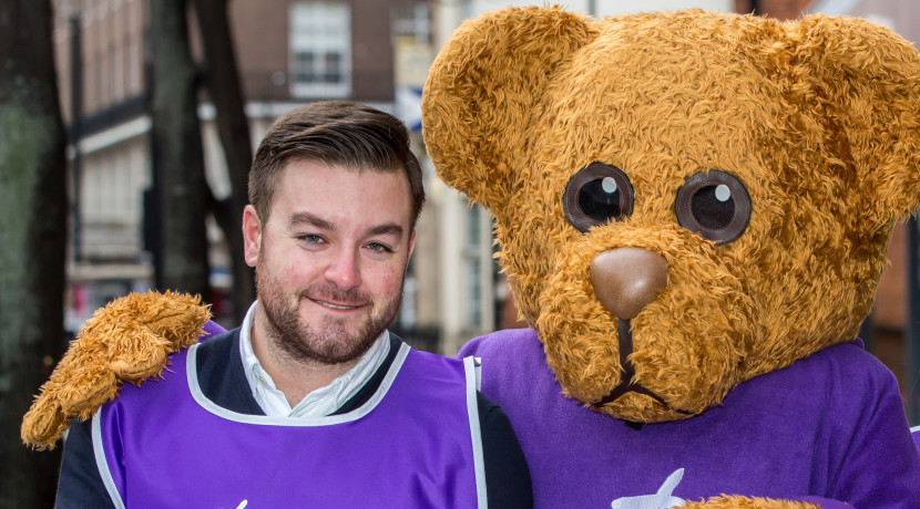 Alex Booker hosts The Big Quiz for Great Ormond Street Hospital