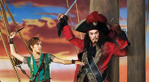 Peter Pan Live screened for free as part of Andrew Lloyd Webber series