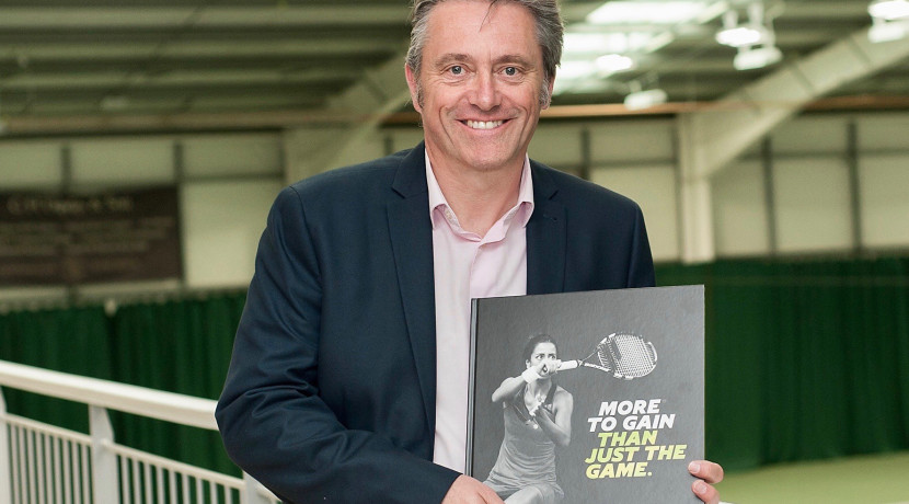 Book inspired by tennis tournaments on shortlist for national award