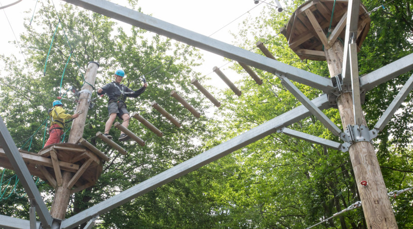 Take to the High Ropes: Telford attraction reopens in time for school holidays