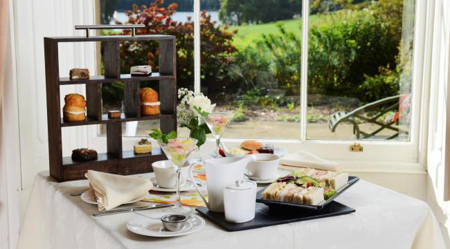 Afternoon Tea on the menu at Himley Hall