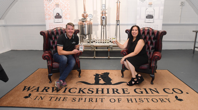 Leamington's first gin distillery raises a toast as it prepares to open
