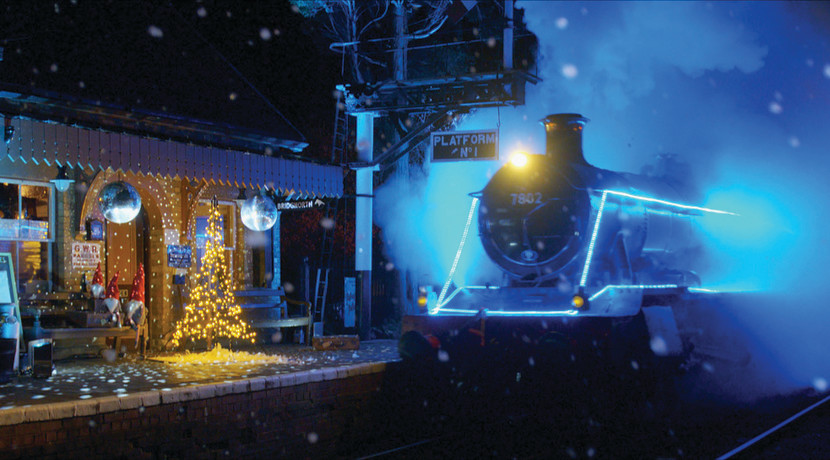 Steam In Lights