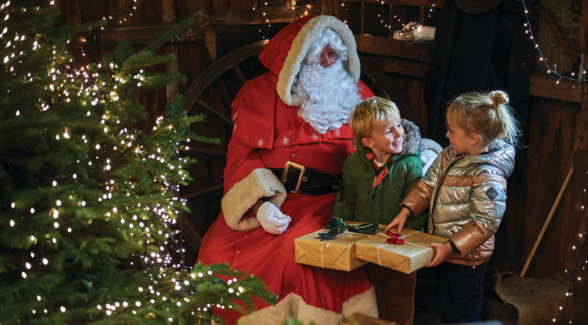 Christmas all wrapped up at Blists Hill