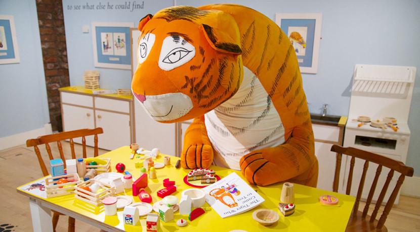 The Tiger Who Came To Tea Exhibition