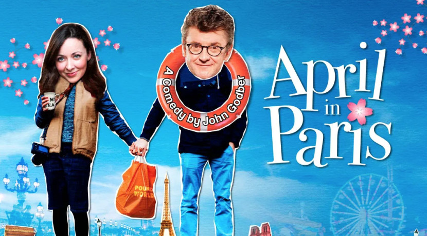 Joe Pasquale to star in new touring version of April In Paris at Belgrade Theatre