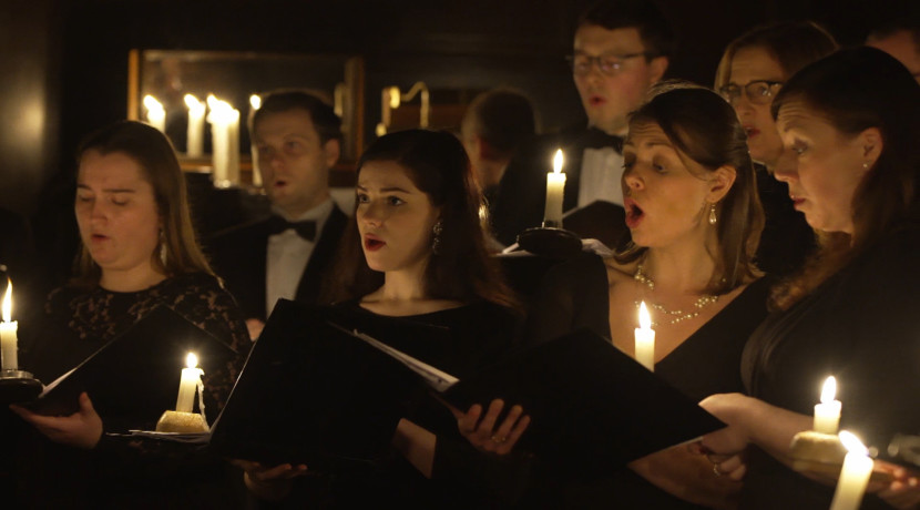 Ex Cathedra take Christmas Music By Candlelight online this week