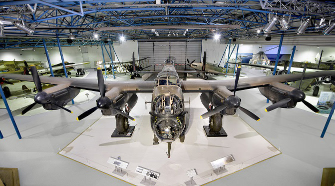 RAF Museum invites you to Join the Lancaster Challenge