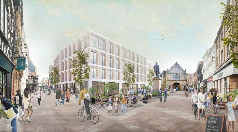 Draft Shrewsbury Masterplan Vision published ahead of consultation