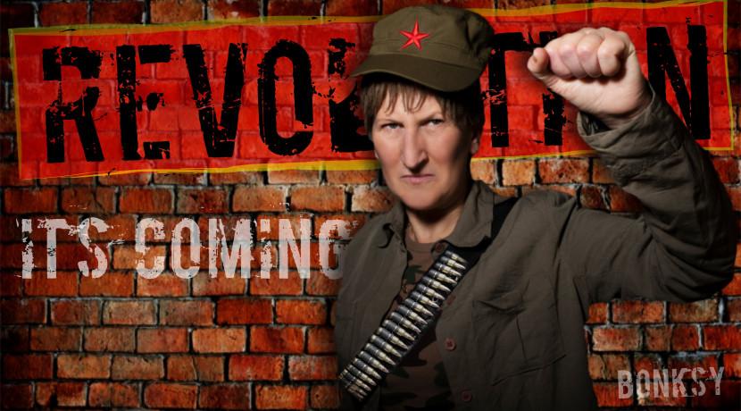 Join Doreen for the Revolution!